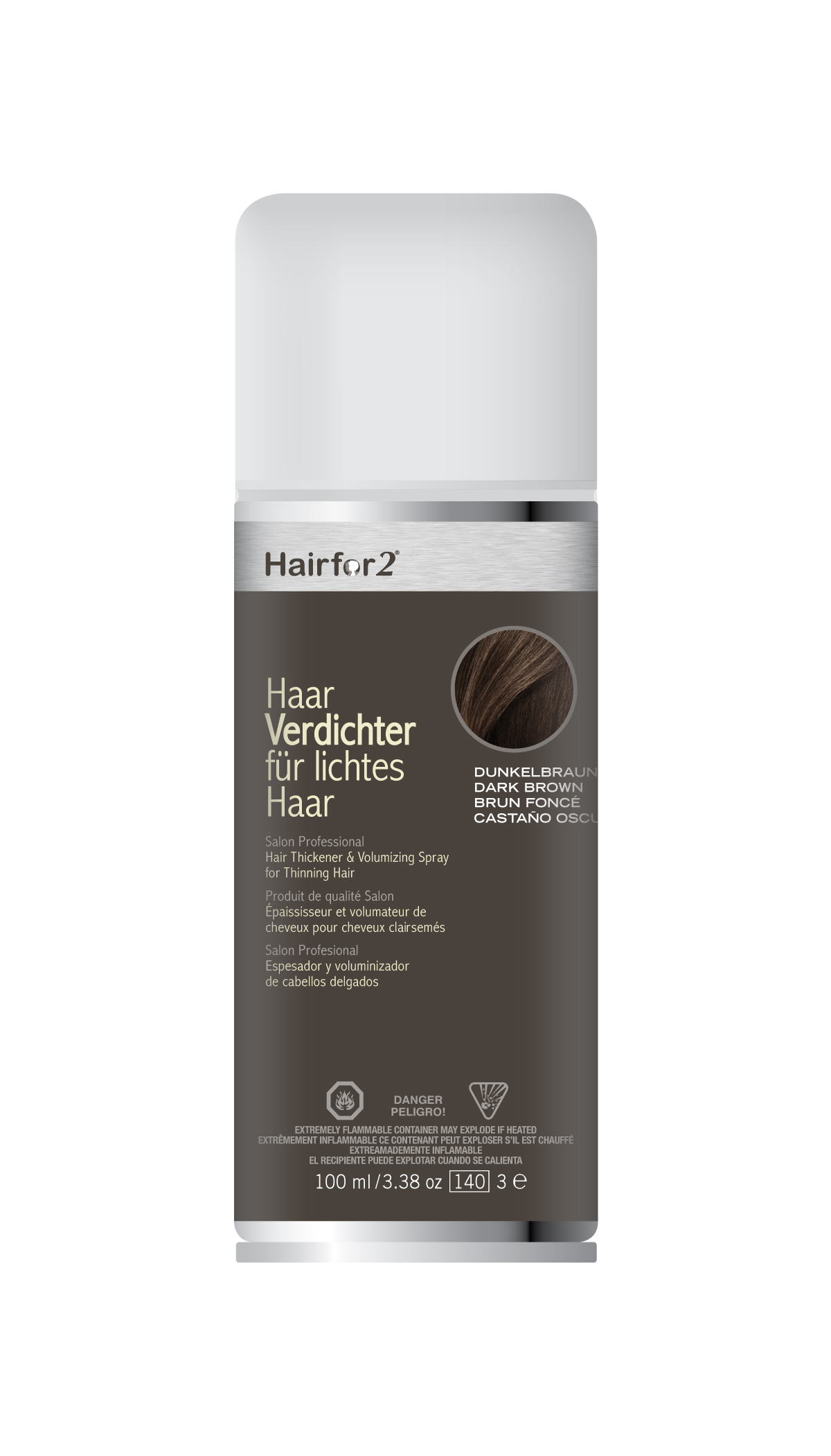 HAIRFOR2 MINI ZAHUŠŤOVAČ 100ml